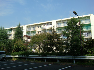 多摩川住宅ホー10 504外観